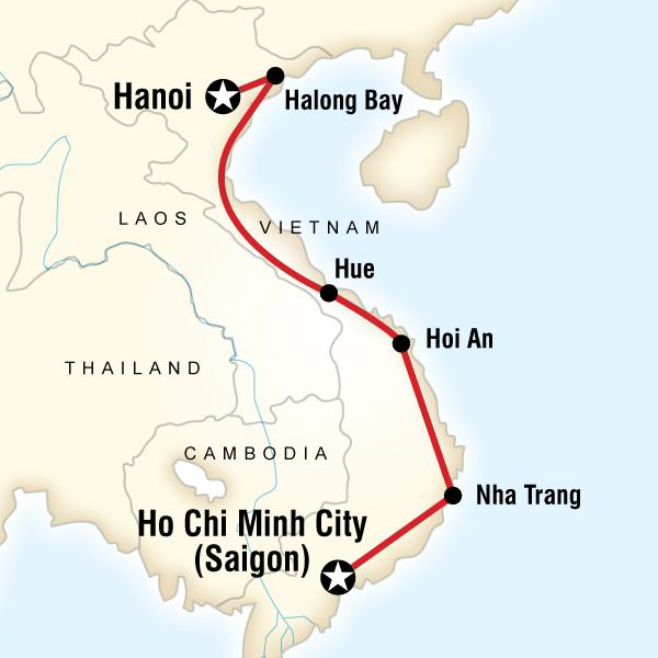 Departure Lounge: Vietnam Itinerary – Wandering with Whit