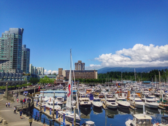 Coal Harbour, Vancouver (this is where I work!)