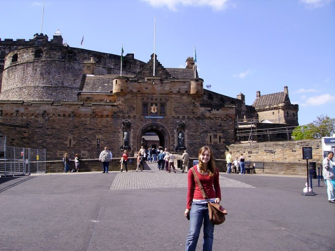 Visiting Edinburgh Castle