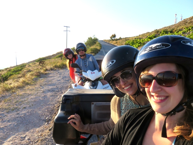 My Favourite Travel Day: ATV Adventure on Santorini