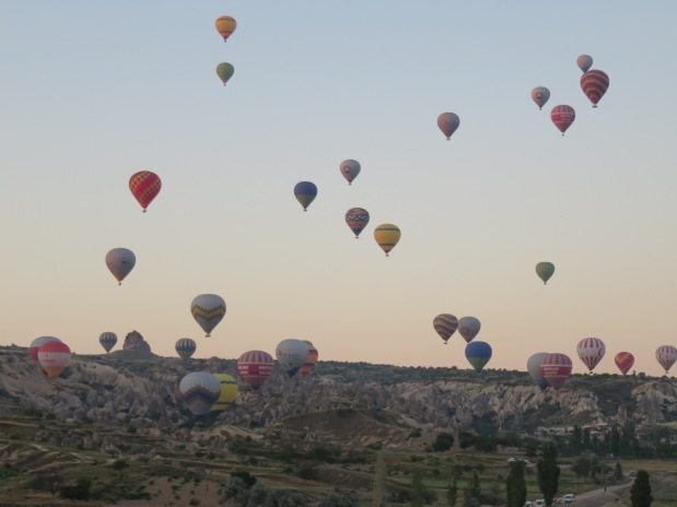 Travel Highlight: Hot Air Ballooning in Cappadocia
